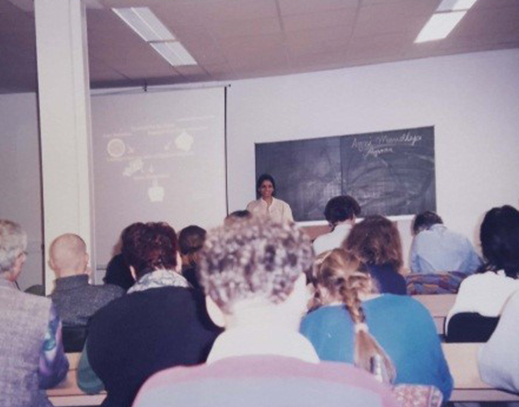 Course at Thalamus School in German Stuttgart where Dr. Smita was the director and professor